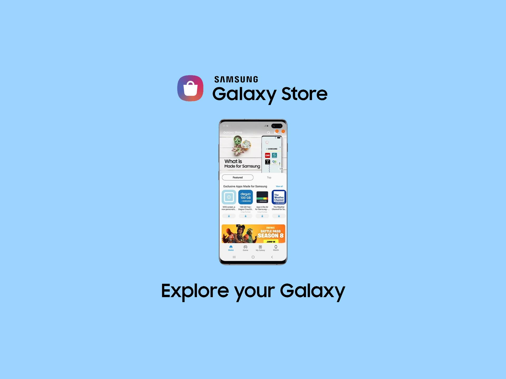 Samsung aggiorna il Galaxy Store con modalità scura e design migliorato