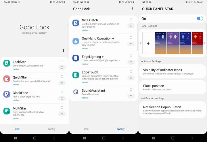 Samsung Good Lock 2019 è qui e permette di personalizzare la