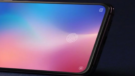 Xiaomi display fingerprint