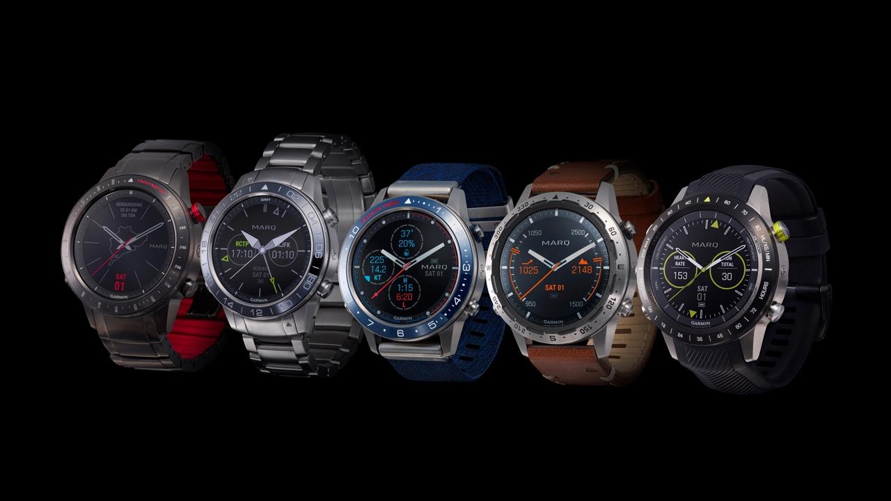 Garmin presenta la collezione MARQ: cinque smartwatch prestigiosi con prezzi da 1.500 euro