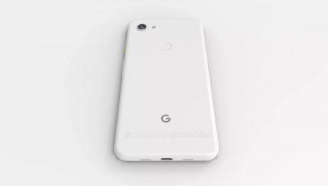 Google pixel 3a xl lite render