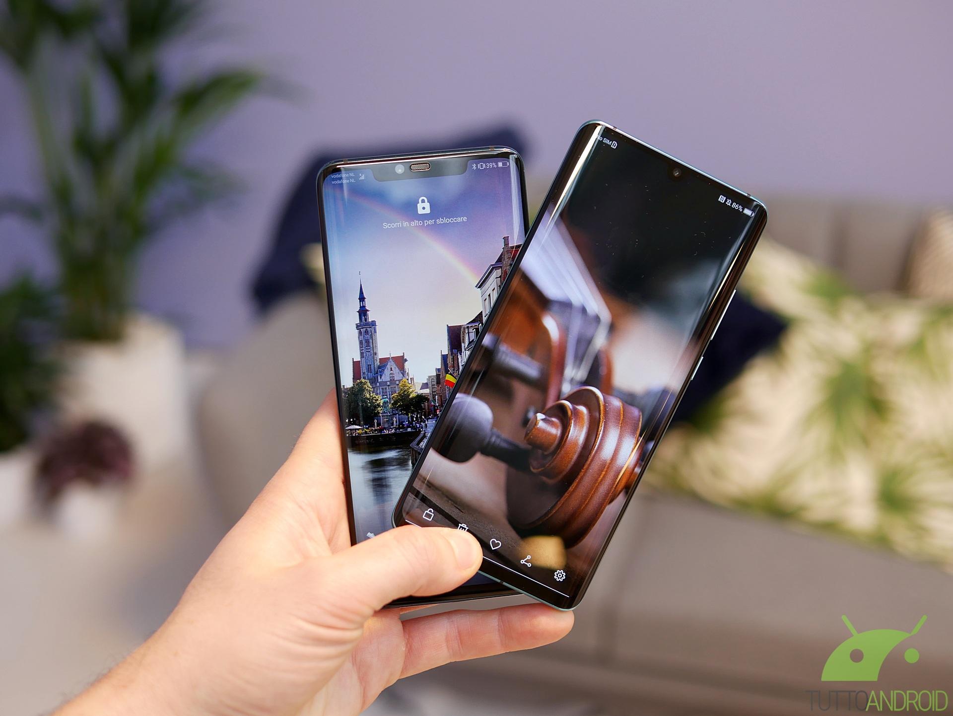 La nuova modalità AOD di Huawei arriverà su tutti questi sma