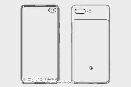 Google Pixel 4 XL potrebbe avere questo aspetto