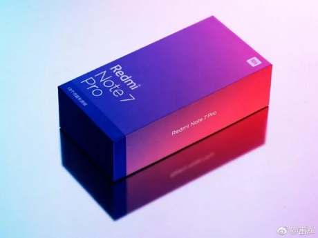 Redmi note 7 pro gradient box