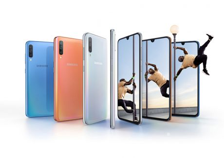 Samsung Galaxy A70 è ufficiale: display da 6,7 pollici con s