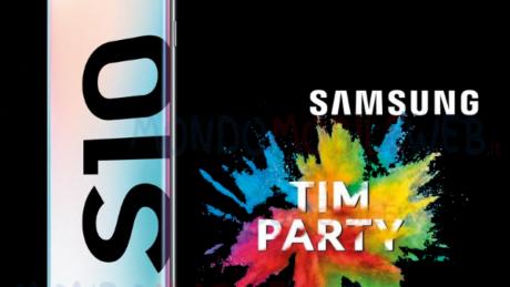 TIM Party premia i propri clienti con Samsung Galaxy S10