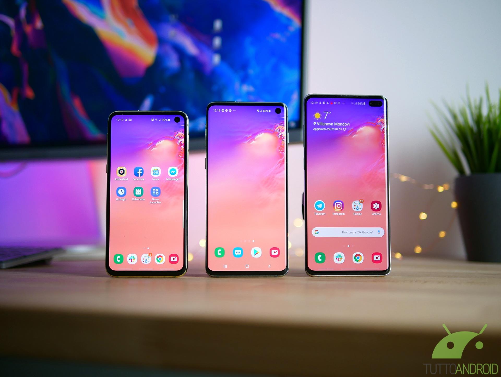 Samsung Galaxy S10 inizierà a ricevere Android 10 a partire da domani