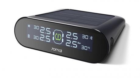 Xiaomi dual charging tpms car tire pressure monitor driving recorder app control 1