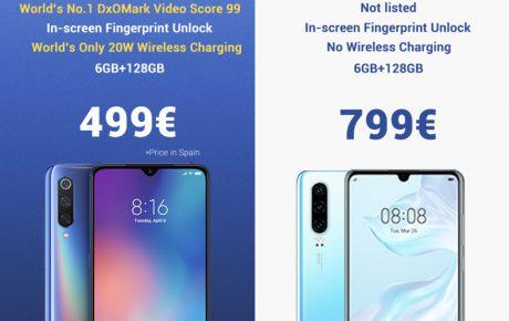 Xiaomi huawei p30 burla
