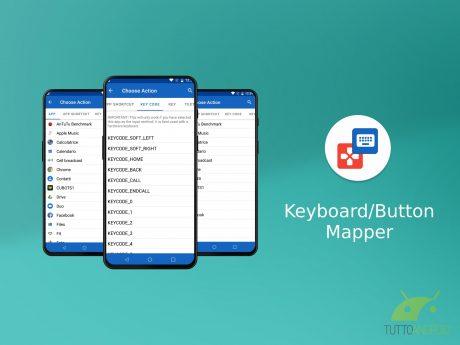 Button Keyboard Mapper
