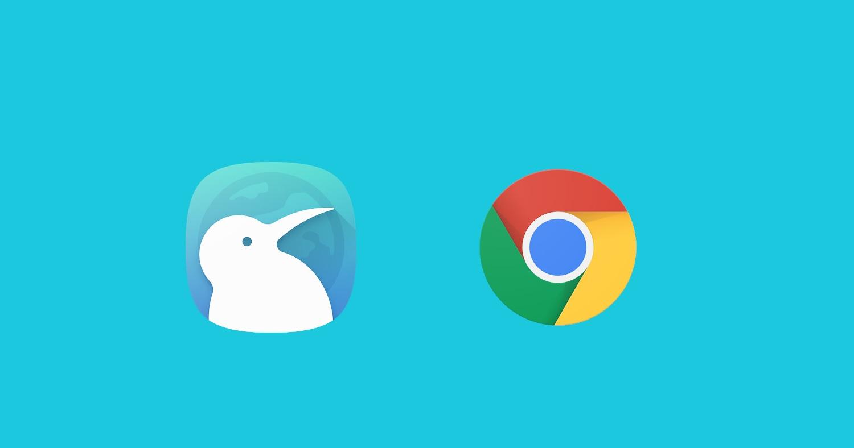 L'ultimo aggiornamento di Kiwi Browser porta le estensioni di Google