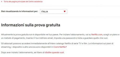 Netflix prova gratuita