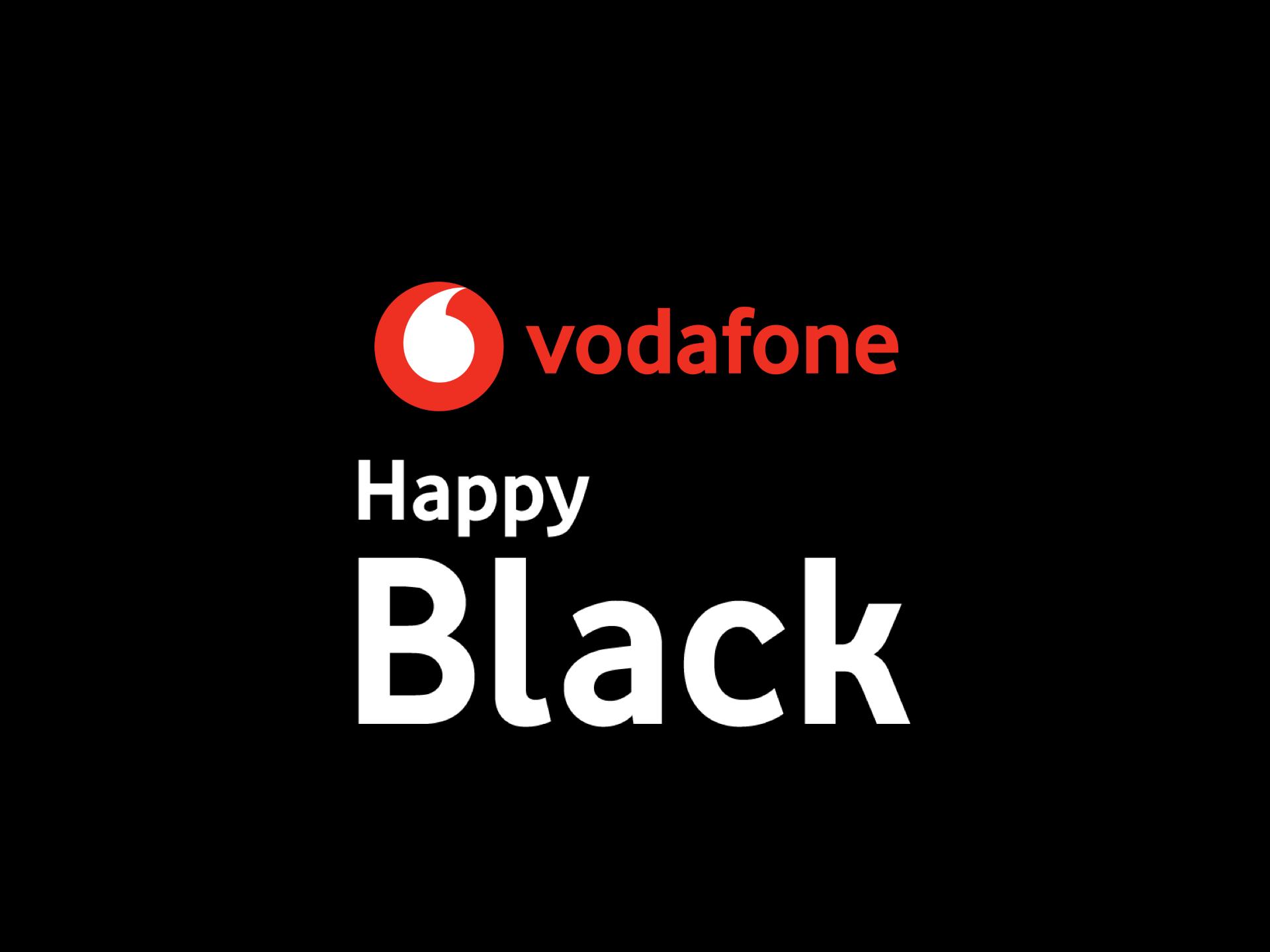 Vodafone sta offrendo Happy Black gratis per 3 mesi ad alcun
