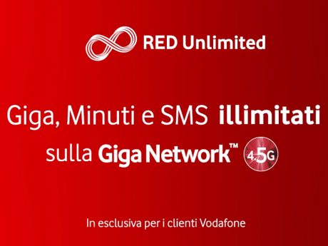 Vodafone Red Unlimited CB