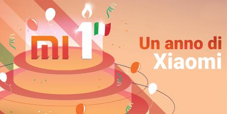 Xiaomi Italia compleanno
