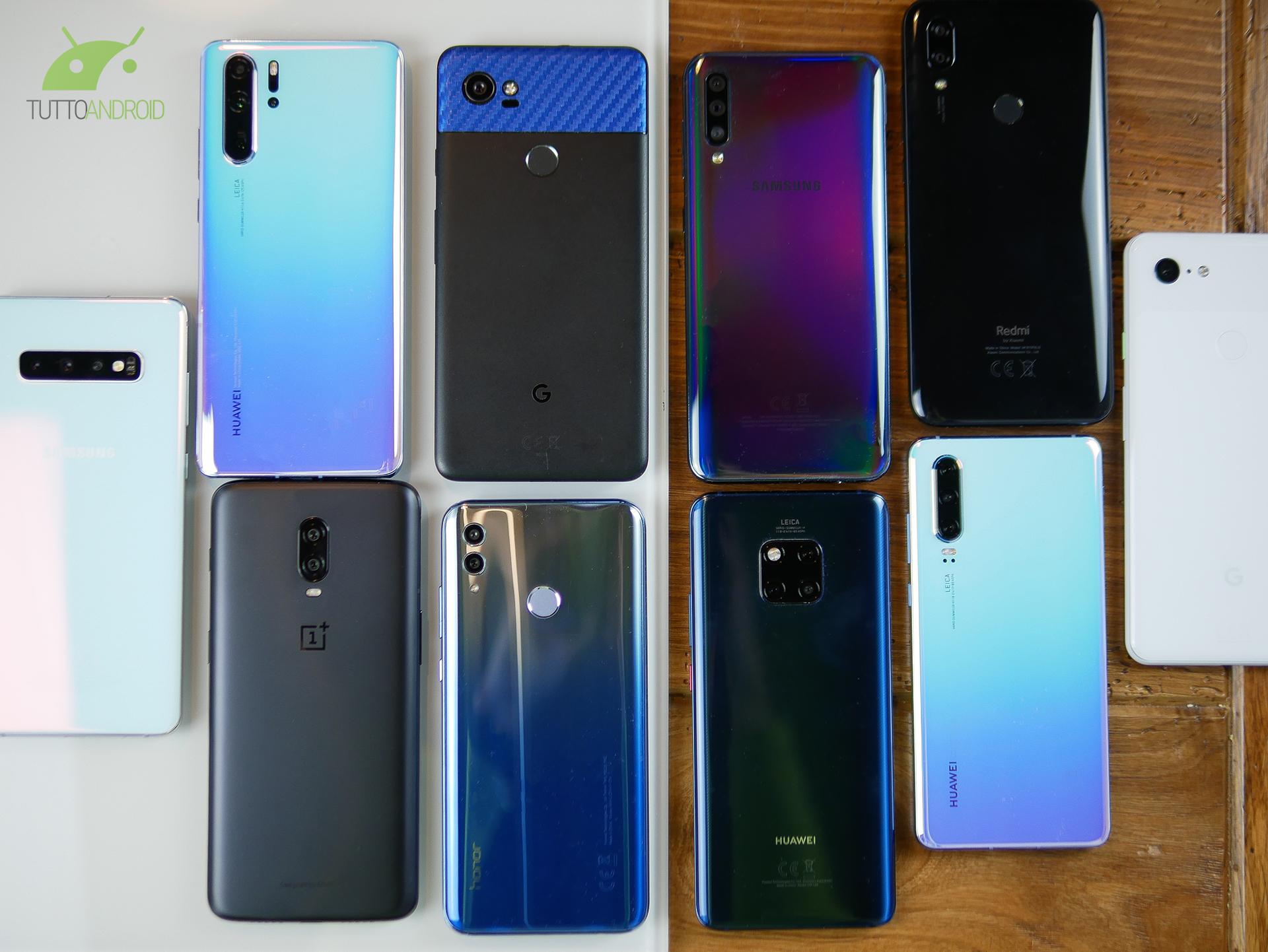 Quanti smartphone con Android stock in offerta oggi, fra cui