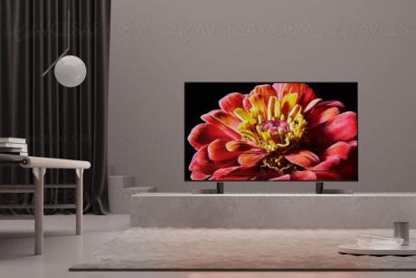 Tv led ultra hd sony xg9005
