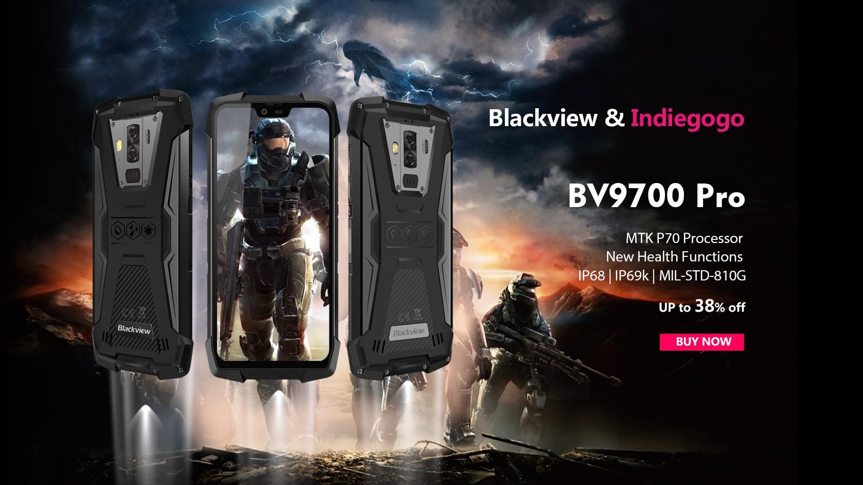 Al via la campagna Indiegogo per Blackview BV9700 Pro, il miglior rugged sul mercato