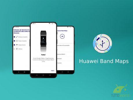 Huawei Band Maps