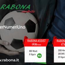 Rabona Mobile lancia i pacchetti Assist e 2Fisso a partire da 4,99 euro al mese