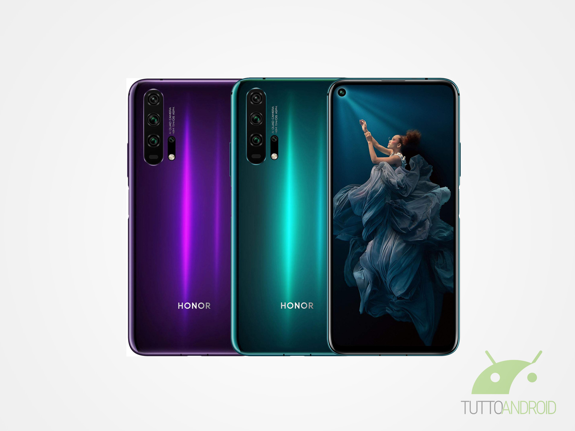 HONOR 20 e 20 Pro vicini alla Magic UI 3.0 beta, della quale