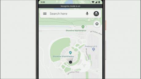 modalita incognito su google maps