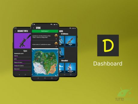 Dashboard for Fortnite Players