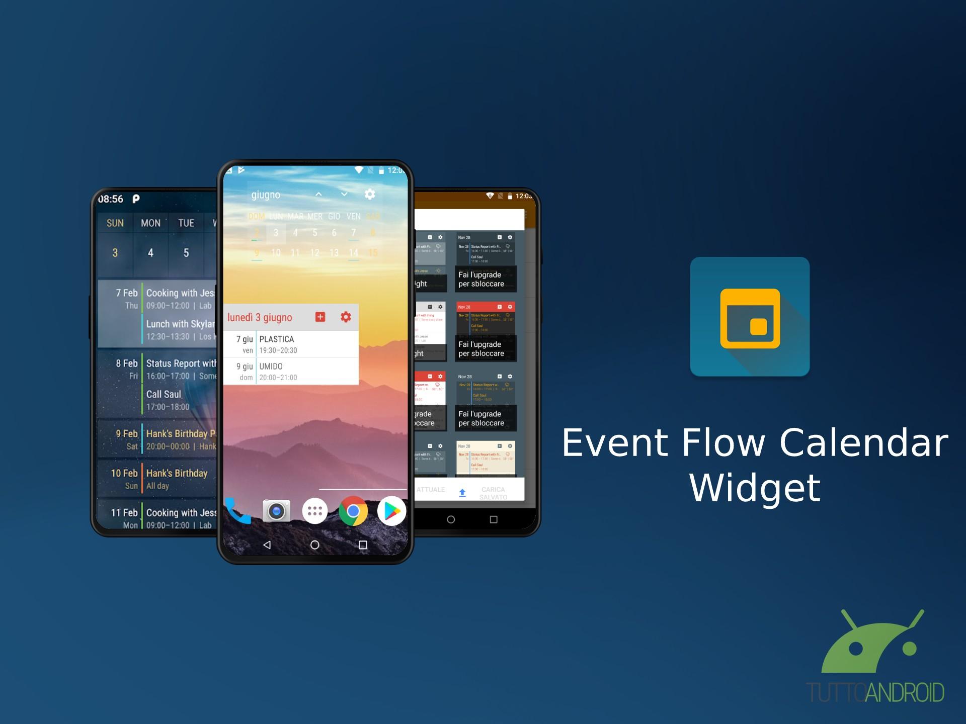 Gadget Calendario.Un Widget Calendario Personalizzabile Gratis Ecco Event