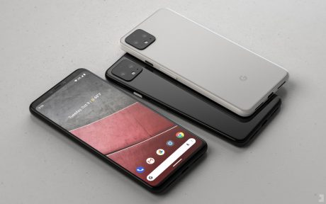 Google Pixel 4 render