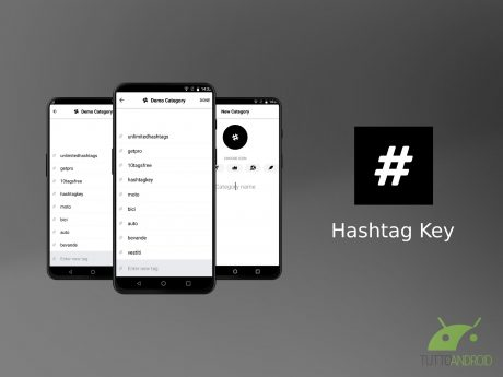 Hashtag Key