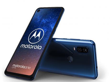 Motorola One Vision Blue b