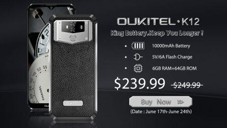 OUKITEL K12 gearbest