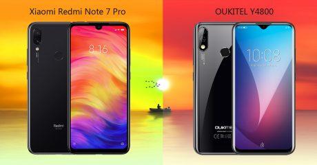 Redmi Note 7 Pro o OUKITEL Y4800? La scelta non è così scont