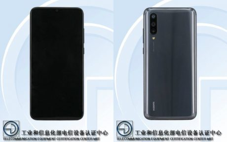 Xiaomi Mi CC9e TENAA FR