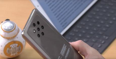 Nokia 9 pureview grey