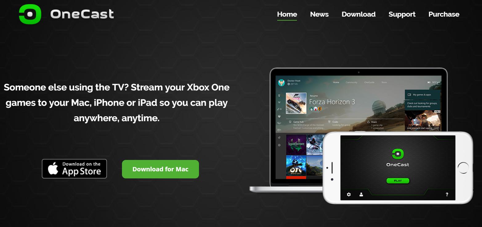 OneCast, l'app per lo streaming dei giochi su Xbox One