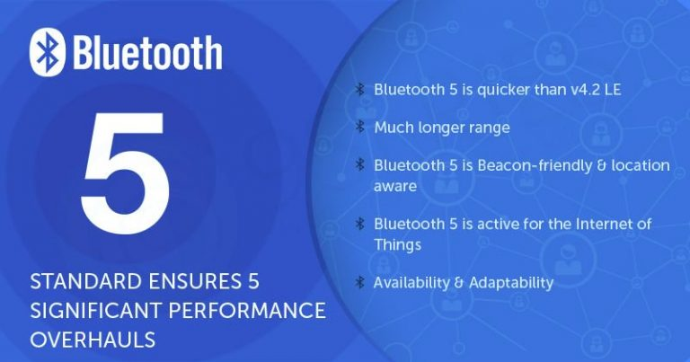 Caratteristiche Bluetooth 5.0