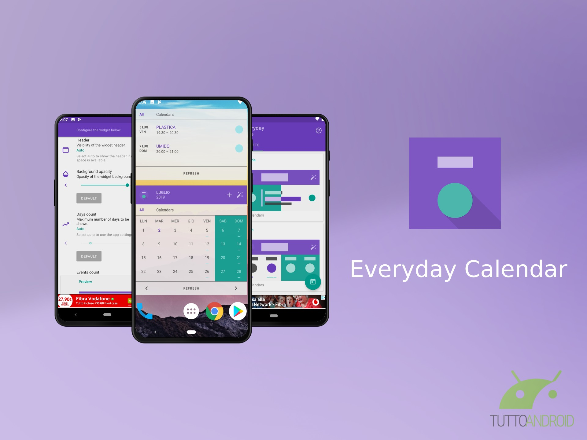 Tutto Il Calendario.E Arrivato Everyday Calendar Un Widget Agenda E Calendario