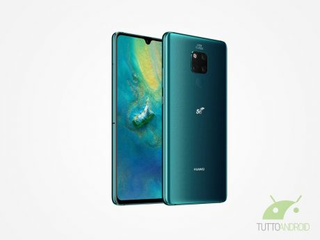 Huawei Mate20X 5G render