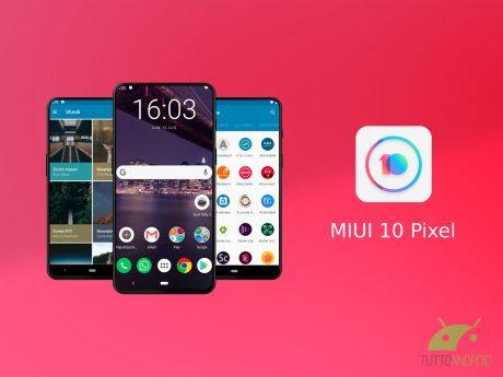 MIUI 10 Pixel