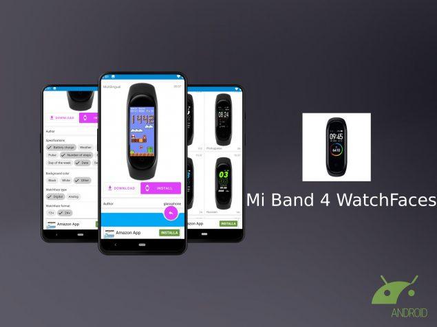 Ecco MiBand4, l'app che offre infinite watchface per Xiaomi