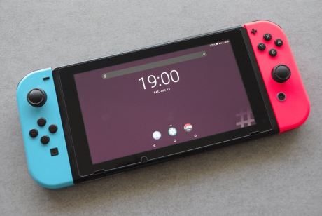 Nintendo Switch LineageOS 15.1 1 min