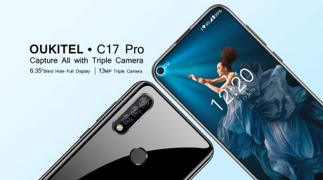 OUKITEL C17 pro come soon with triple camera