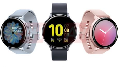 Samsung Galaxy Watch Active All Angles Leak Main
