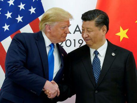 Trump promessa huawei