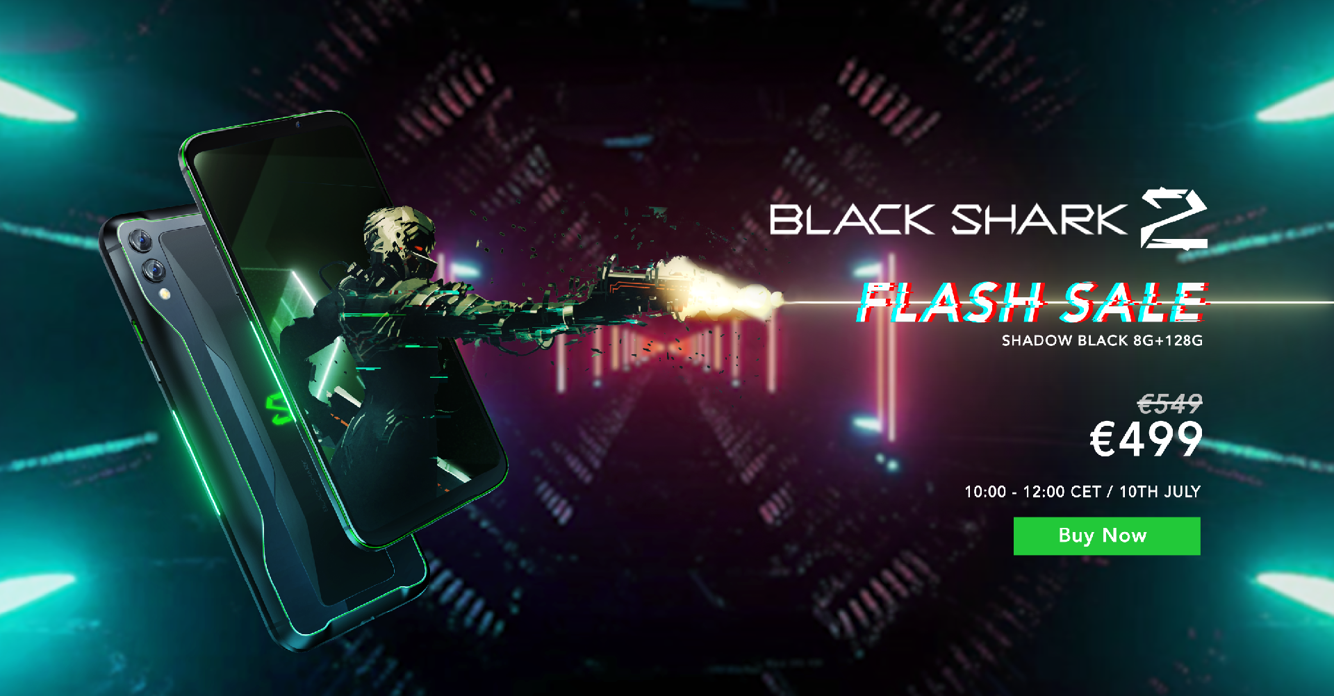 black shark 2 flash sale