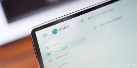 Google voice web material 2