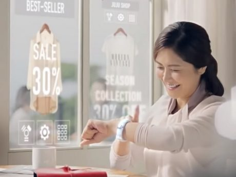 Samsung no smartphone