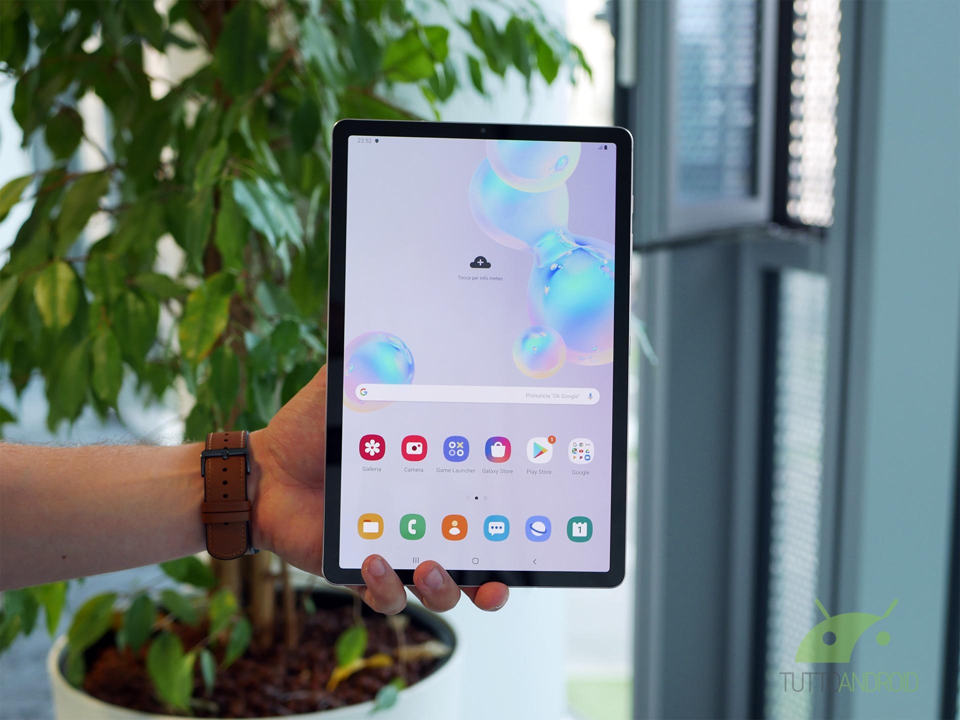 Samsung Galaxy Tab S7+ dovrebbe avere una scheda tecnica da