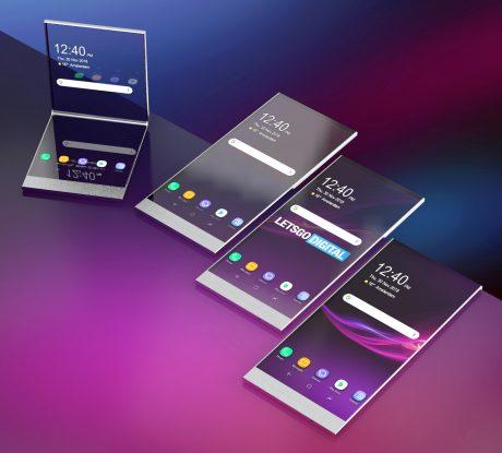Sony vouwtelefoons